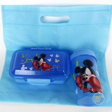 Lunch Box Mickey mouse Set With Bag
