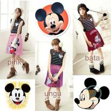 Dress Mickey Mouse Salur