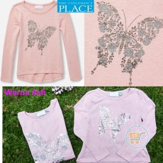 Tshirt Place Longsleeves Butterfly