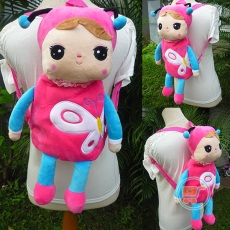 Ransel me Too Angela Butterfly Pink