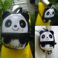 Ransel Panda Cute Face Small