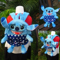 Ransel Stitch Polkadot Cute Body