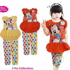 Setelan Minnie Mouse Sweet Like Me
