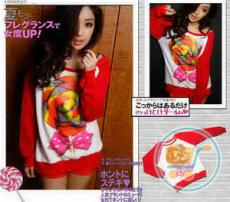 Baju Sweater Lollipop