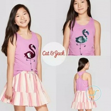 Tanktop Cat & Jack Flaminggo Flip Sequin (XL)