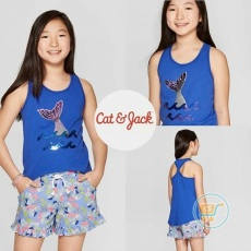 Tanktop Cat & Jack Mermaid Flip Sequin (XS)