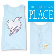 Tshirt Place Tanktop Heart Metallic
