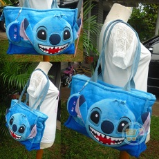 Tas Stitch Cangklong Pocket