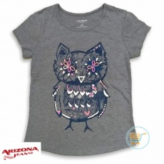 Tshirt Arizona Owl Grey