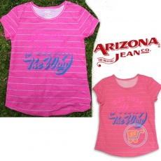 Tshirt Arizona Stripe Pink