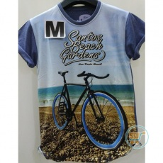 Tshirt Bicycle Santos Beach Garden