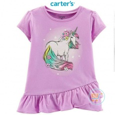 Tshirt Carter Unicorn Purple