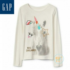 Tshirt GAP Unicorn Big Dreamer