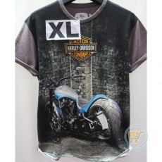 Tshirt hArley Davidson Big Wheel Extra Large
