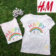 Tshirt HnM Happy Everyday
