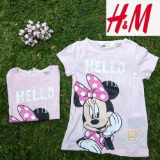 Tshirt HnM Minnie Mouse Hello