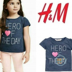 Tshirt HnM Hero Of Day