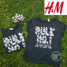 Tshirt HnM Rule No 1