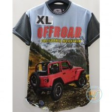 Tshirt Jeep Offroad California Mountain Extra Large
