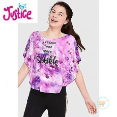 Tshirt Justice Batwings Sparkle