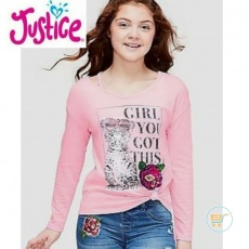 Tshirt Justice Girl Of Cat