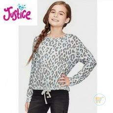 Tshirt Justice Knitted Leopard