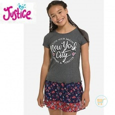 Tshirt Justice Knitted New York City