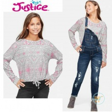 Tshirt Justice Knitted Fantastic Simetry