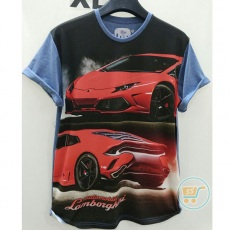 Tshirt Lamborghini Red XL