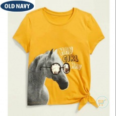 Tshirt Old Navy Hay Girl Flip Sequin