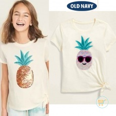 Tshirt Old Navy Pineapple Flip Sequin