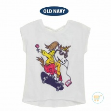 Tshirt Old Navy Unicorn Skateboard