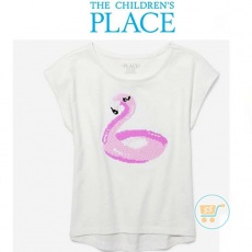 Tshirt Place Flaminggo Flip Sequin