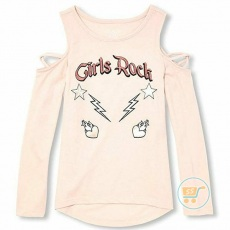 Tshirt Place Girl Rock