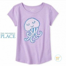 Tshirt Place Jelly Fish Flip Sequin