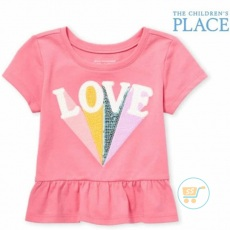 Tshirt Place Love pinky