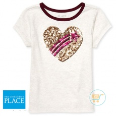 Tshirt Place Love Star Sequin