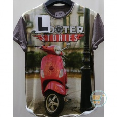 Tshirt Scooter Stories Large