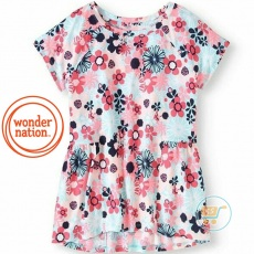 Tshirt Wonder Nation Flower Garden