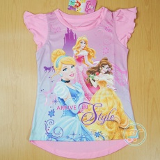 Baju Princess Pink Disney original (Ukuran 4 - 14)