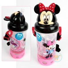 Botol Minum Minnie Mouse Cute Head