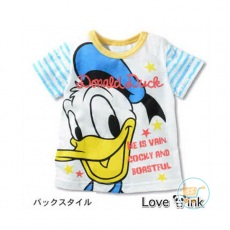 Kaos Donald Duck Smile ( L dan XL)