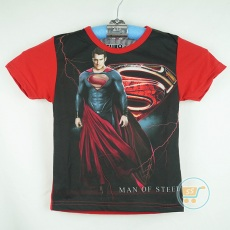 Kaos Superman Man Of Steel (Ukuran 4 - 14)