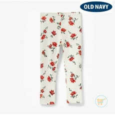 Legging Old Navy Whitw Flower