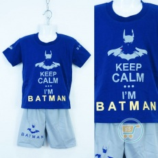 Setelan Batman keep Calm