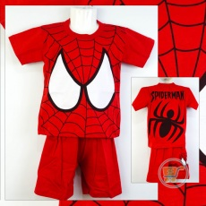 Setelan Spiderman Big Eyes (Ukuran 4 - 20)