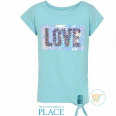 Tshirt Place Love Flip Sequin Tosca